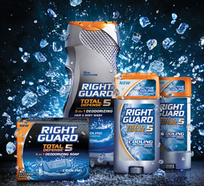 Right Guard Total Defense 5