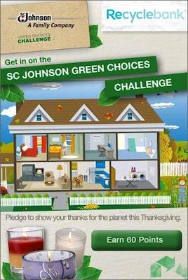 SC Johnson Green Homes Challenge