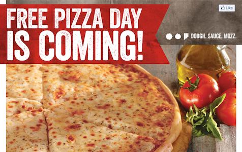 Sbarro FREE Pizza