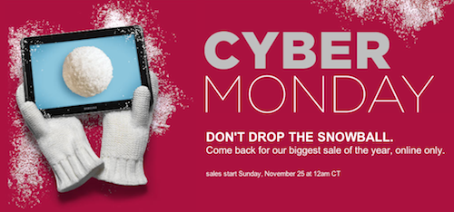 Sears Cyber Monday Sale
