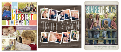 TinyPrints Holiday Cards