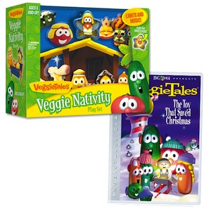 VeggieTales Nativity Set