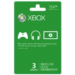 Xbox 360 Live Subscription