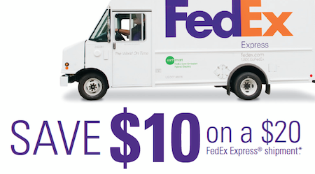 FedEx Express Shipment Coupon