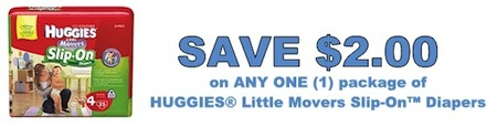 Huggies Little Movers Coupon