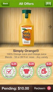Ibotta Simply Orange