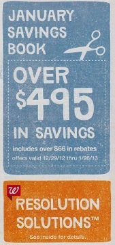 Walgreens January 2013 Coupon Booklet