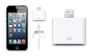 IPhone 5 Lightning to 30 Pin Adapter