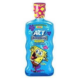 ACT Mouthwash SpongeBob
