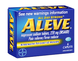 Aleve Travel Size