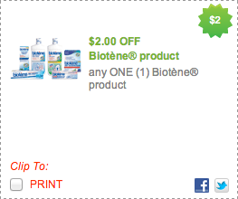 Biotene Coupon