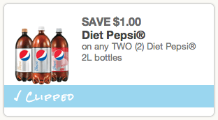 Diet Pepsi Coupon