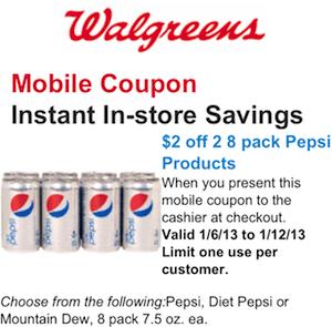 Pepsi Walgreens Mobile