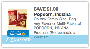 Popcorn Indiana Coupon