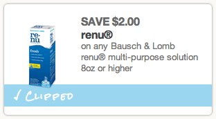 Renu Printable Coupon