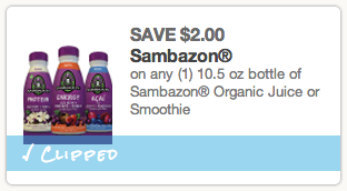 Sambazon Coupon
