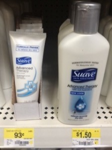 Suave Lotion Walmart Deal