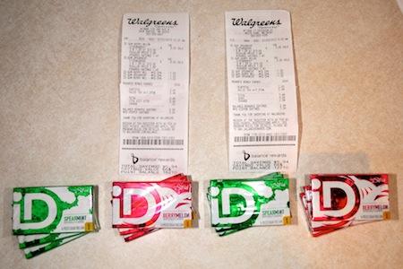 Walgreens ID Gum Trip