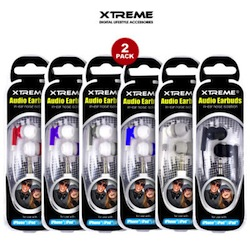 Xtreme Stereo Audio Earbuds