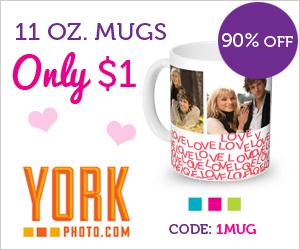 York Photo Mug