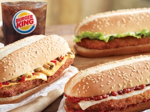 Burger King Chicken Sandwiches