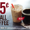 Burger King: $0.25 Small Hot or Iced Coffee