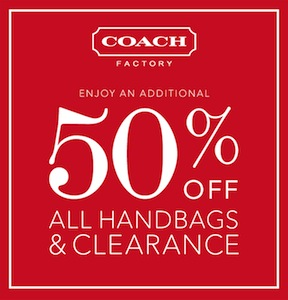 Coach Factory Store Coupon