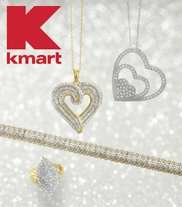 Kmart: Up to 75% off Diamonds, Gemstones, and Gold Jewelry