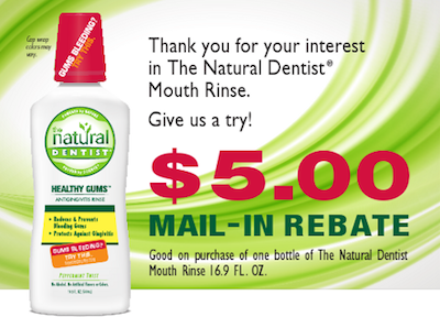 Natural Dentist Rebate