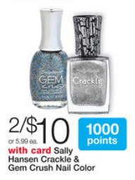 Sally Hansen Walgreens Deal