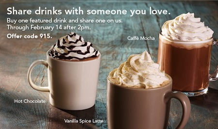 Starbucks BOGO