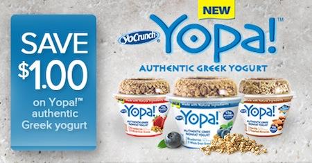 Yopa Greek Yogurt