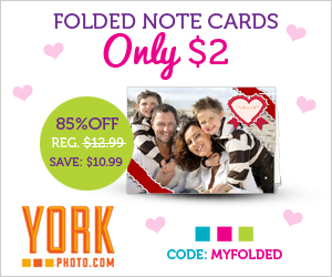 York Photo Folded Note Cards