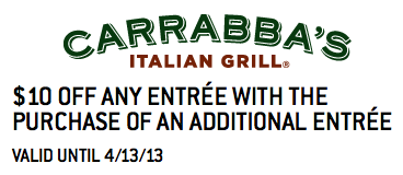 Carrabbas-Coupon