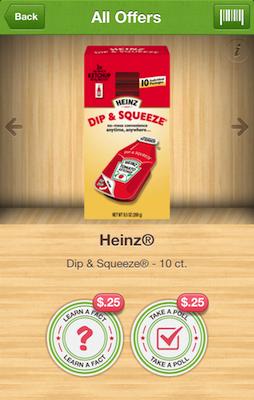 Heinz Dip Squeeze Ibotta