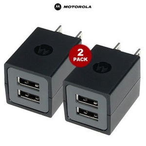 Motorola Dual USB Travel Charger