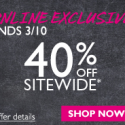 The Body Shop: 40% off Sitewide