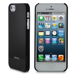 RooCASE Ultra Slim Gloss Shell Case for iPhone 5