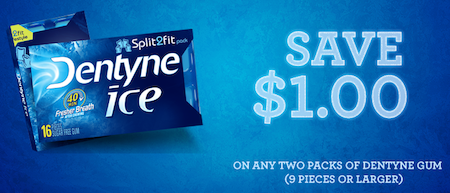 Dentyne Gum Coupon