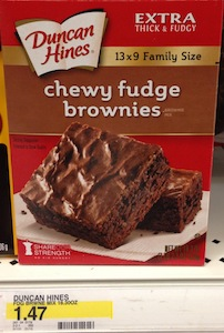 Duncan Hines Brownies