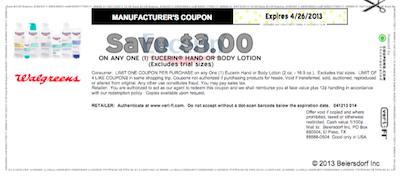 photo regarding Eucerin Printable Coupons named Walmart: Eucerin In depth Mend Hand Creme $0.91