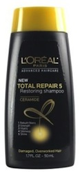 L Oreal Total Repair 5 Travel Size Shampoo