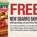Sbarro-Coupon