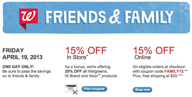 Walgreens-Friends-and-Family-Sale
