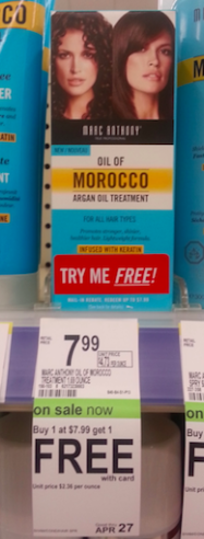 Walgreens Oil of Morocco