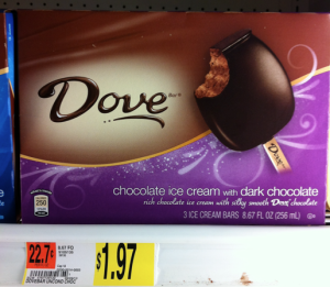 Dove Ice Cream Bars Printable Coupon