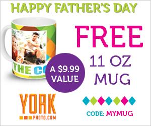 FREE Fathers Day Mug