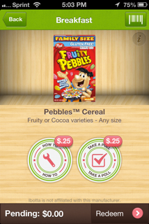 Fruity Pebbles Ibotta