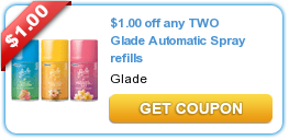 Household Coupon. There is a new high value Glade, Windex or Ziploc Coupon available to print today. This one is for $3 off any two or more Glade, Windex or Ziploc brand products. You must share the coupon in order for the the value to increase to $ off 2. Print: Glade, Windex or Ziploc Coupon Now through 1/17, ShopRite has a wide selection of household products on sale 3/$ (must buy.