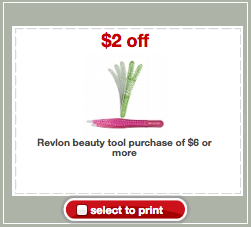 Revlon Beauty Tools Target Coupon